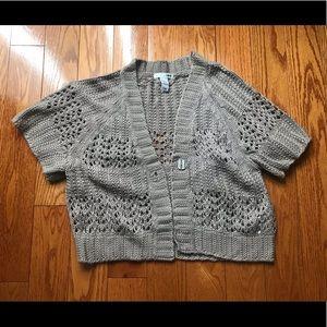 H&M Crochet Shrug